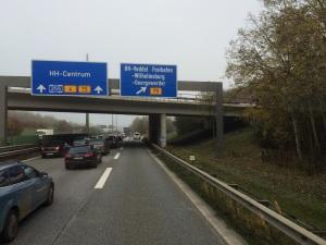 On Route nach Hamburg
